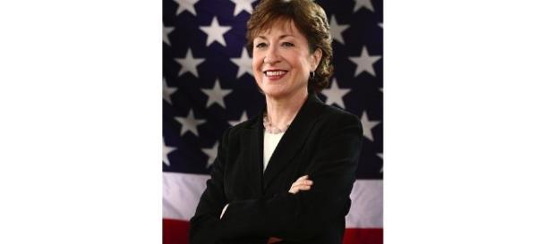 GOP Senator Collins body shames fellow congressman. - wikimedia
