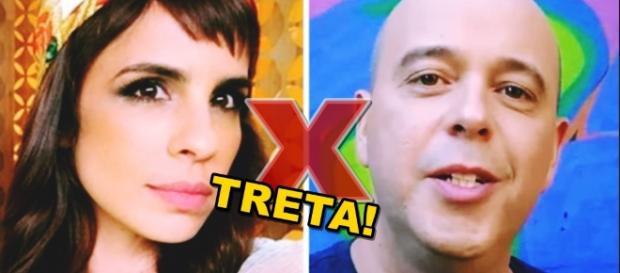 Maria Ribeiro pergunta quem é Alex Escobar