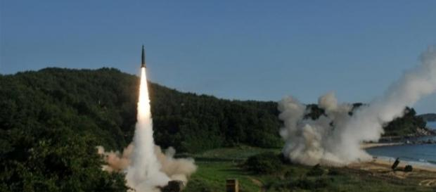 North Korean Inter Continental Ballistic Missile capable striking Hawaii and Alsaka (Handout/United States Army/Reuters)
