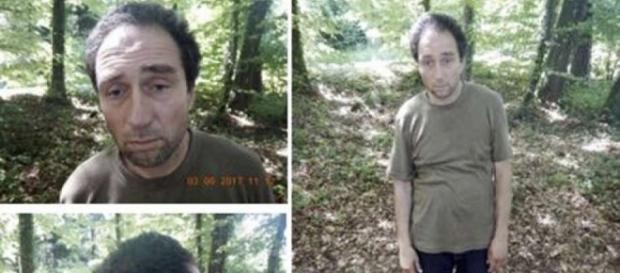 Policia suíça divulgou fotos de Franz Wrousis, que atacou cinco pessoas com uma motosserra