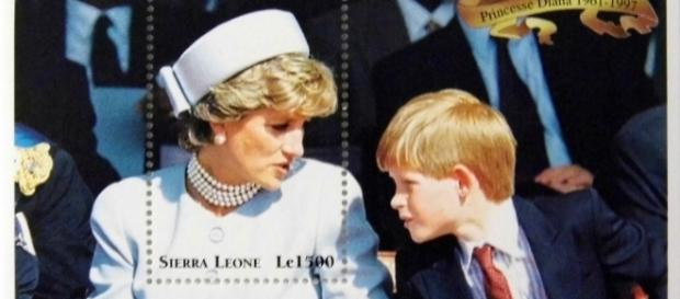 "Princess Diana ""With Harry"" Commemorative Stamp via Flickr / Joe Haupt"