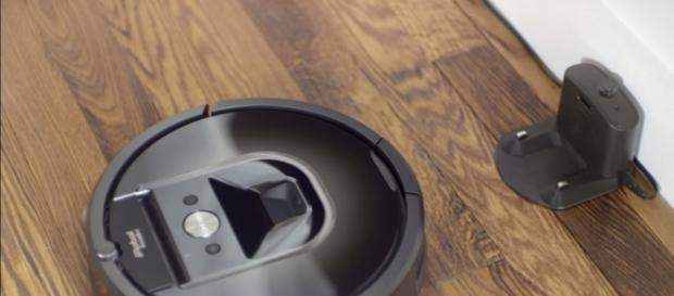 Roomba robotic vacuum soon to enter a greater tech market. (via iRobot/Youtube)