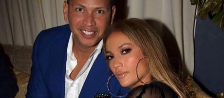 Jennifer Lopez and Alex Rodriguez celebrating their birthdays together / Photo via Jennifer Lopez , Instagram