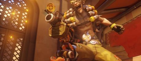 """Junkrat from Blizzard's 'Overwatch'. Srouce: https://blizzard.gamespress.com/Overwatch"""