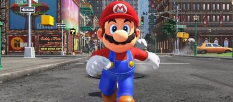 Mario is one of the most famous characters in video game history. [Image via YouTube/Games Blog]