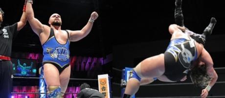 Michael Elgin tiene dos victorias tras iniciar con dos derrotas. njpw.co.jp.