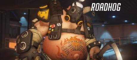 Roadhog Ability Overview - YouTube/PlayOverwatch Channel