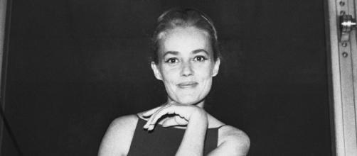 A atriz na sua juventude (Foto: Reprodução)