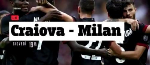Andata preliminare Craiova-Milan in tv su TV8