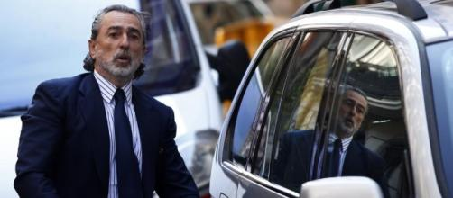 Correa a la salida de la Audiencia Nacional