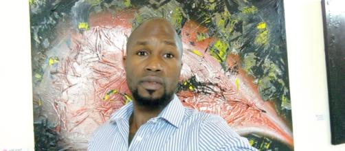 Didier Ebanda, artiste plasticien camerounais (c) Didier Ebanda