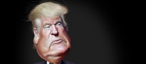 Donald Trump caricature via Flickr