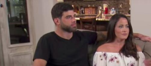 Jenelle and David at home. Image via YouTube