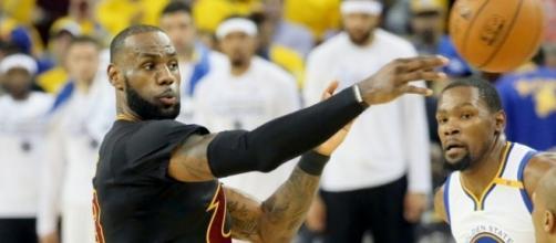 LeBron James finally clarifies the rumors between him and Kyrie Irving (via YouTube/NBA)