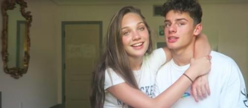 Maddie Ziegler with her boyfriend--Image via Maddie Ziegler's Channel on YouTube