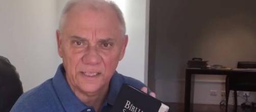 Marcelo Rezende luta incansavelmente pela sua cura e crê no poder de Deus (Foto: Reprodução)
