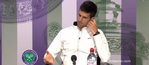 Novak Djokovic/ Photo: screenshot via Wimbledon official channel on YouTube