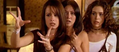 "The Halliwell sisters cast a witchy spell on ""Charmed."" ~ Facebook/CharmedTV"