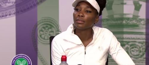 Venus Williams denies responsibilities from the victim of the car accident which took plac on June 9. Image via YouTube/ESPN