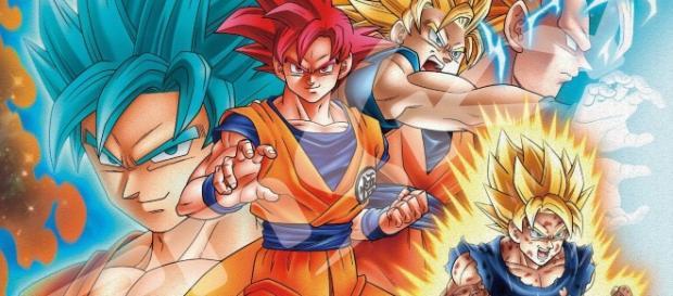 Goku e todas suas transformações
