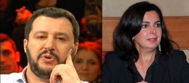 Matteo Salvini denuncia la 'sostituzione etnica' in corso e se la prende con Laura Boldrini