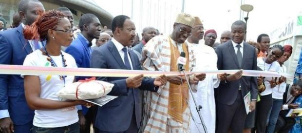 Membres du gouvernement camerounais à l'inauguration du SAGO (c) SAGO