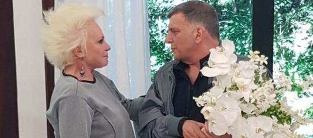 O encontro de Ana Maria e Jorge Fernando foi recheado de muita emoção