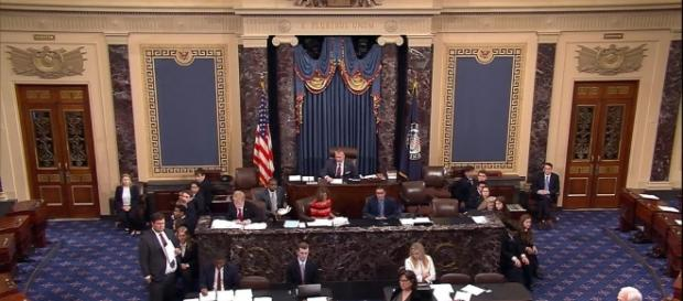 ON a 43-57 vote, the senators rejected a repeal of Obamacare. Image credit - ABC News/YouTube.