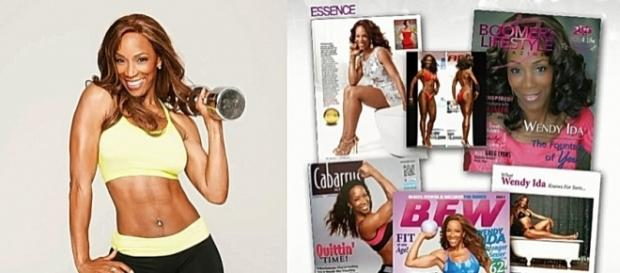 Wendy Ida's awesome figure makes the cover of multiple magazines- YouTube/ Wendy Ida Channel