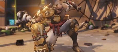 """As Blizzard announces new penalties for players with """"bad behaviors,"""" Doomfist is makes his way to the game today. (YouTube/IGN)"""