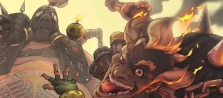 'Overwatch' Roadhog and Junkrat will be getting some changes soon (image source: YouTube/edcellwarrior)