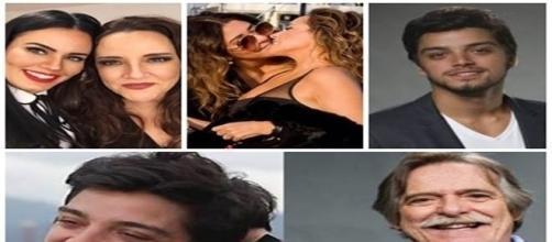 Algumas celebridades não importam de assumir opção sexual