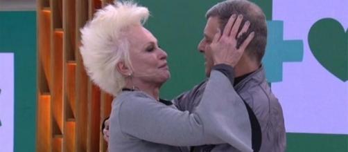 Ana Maria Braga chorou muito na presença do seu diretor