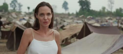Angelina Jolie was slammed for playing psychological games to children during casting./Photo via Netflix, YouTube