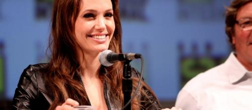 Angelina spoke candidly about life after divorce with Vanity Fair - image by Gage Skidmore