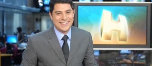 Apresentador estava no telejornal há mais de uma década (Foto: Reprodução)