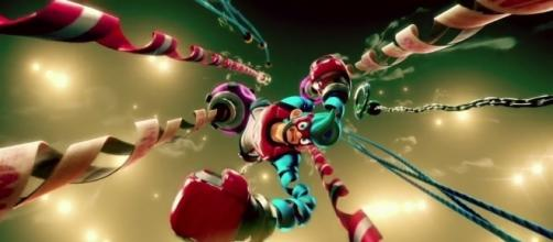 'ARMS' is available to play on the Nintendo Switch (image source: YouTube/XCageGame)