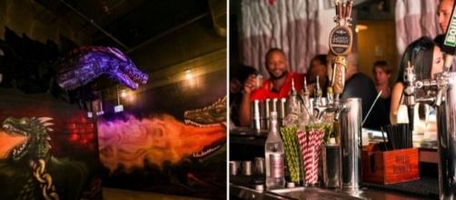Bar inspirado em 'GoT' tem drinks e ambientes temáticos. (Foto: Divulgação/Game of Thrones PUB)