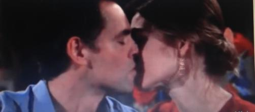 "Billy and Victoria from ""The Young and the Restless."" - YouTube/CBS soaps."