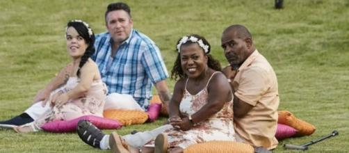 Cast members from the new Lifetime series Couples Retreat. Image via Lifetime, used with permission.