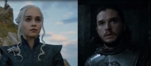 Daenerys e Jon Snow no próximo episódio de GoT