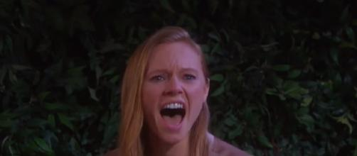 Days of our Lives Abigail. (Image via YouTube screengrab)