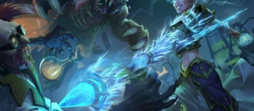 Hearthstone: Knights of the Frozen Throne expansion revealed;[Image source: Youtube Screen grab]