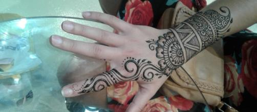Henna tattoo from a local Henna Shoppe - Lauren Butler's photos - own work