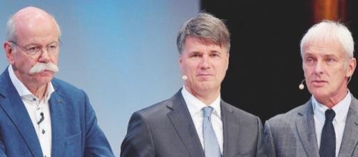 I dirigenti rivelano. Foto: https://www.ilfattoquotidiano.it/premium/articoli/il-mega-cartello-dellauto-nei-guai-tutti-i-big-tedeschi/