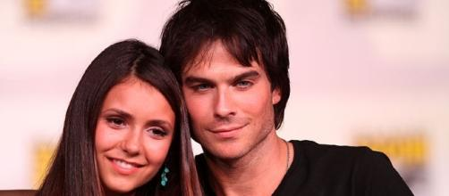 "Ian Somerhalder and Nina Dobrev in ""The Originals."" [Image via Flickr/Gage Skidmore]"
