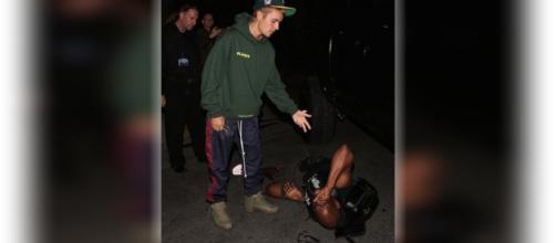 Justin Bieber tentou ajudar o fotógrafo que atropelou