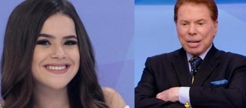 Maísa que é uma das queridinhas do SBT passou a tarde gravando nos estúdios Globo