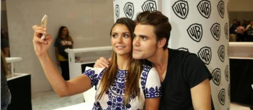 Nina Dobrev and Paul Wesley reportedly had an affair before dating Glen Powell. Photo by xdarklight/YouTube Screenshot