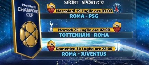 Roma-Juventus in tv domenica 30 luglio 2017